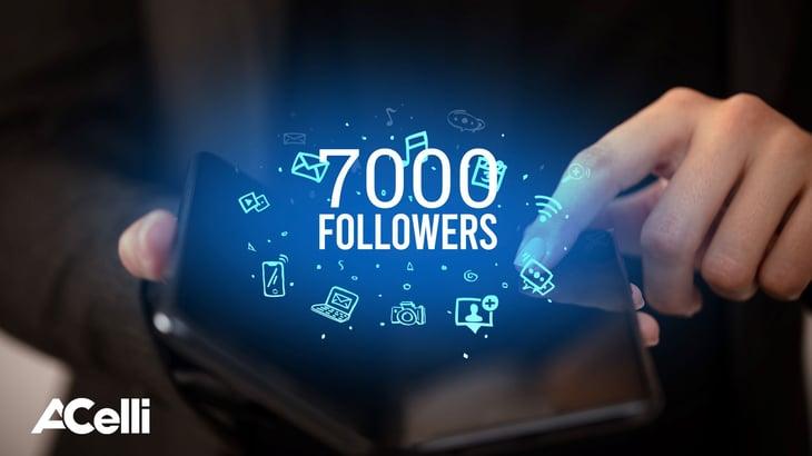 Banner 7000 Linkedin followers_M