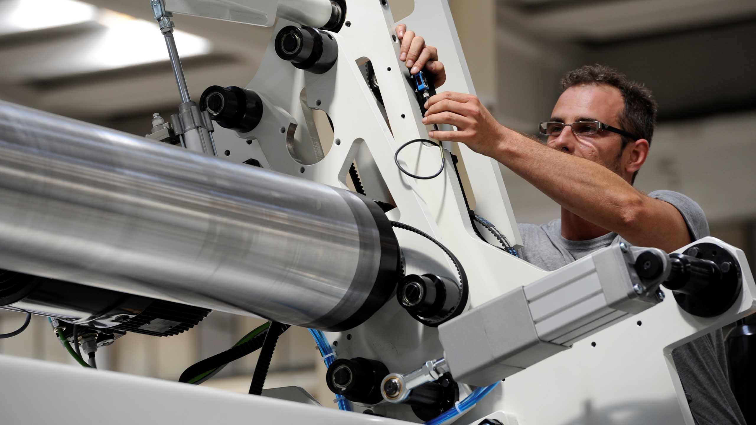 Eseguire il retrofit di un impianto per tissue e tessuto non tessuto nel modo corretto